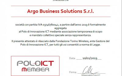 Argo aderisce al Polo di Innovazione ICT