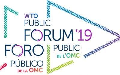 Fabio Cassanelli (Argo) interviene al WTO Public Forum