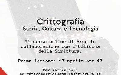 Crittografia – Storia, Cultura, Tecnologia [Corso online]